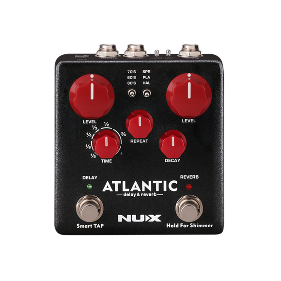 NUX Atlantic Delay and Reverb Pedal