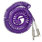 BULLET CABLE 30' PURPLE COIL CABLE - Bullet Cable