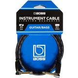 "Boss Patch Cable, 1/4"" Right-Angle"
