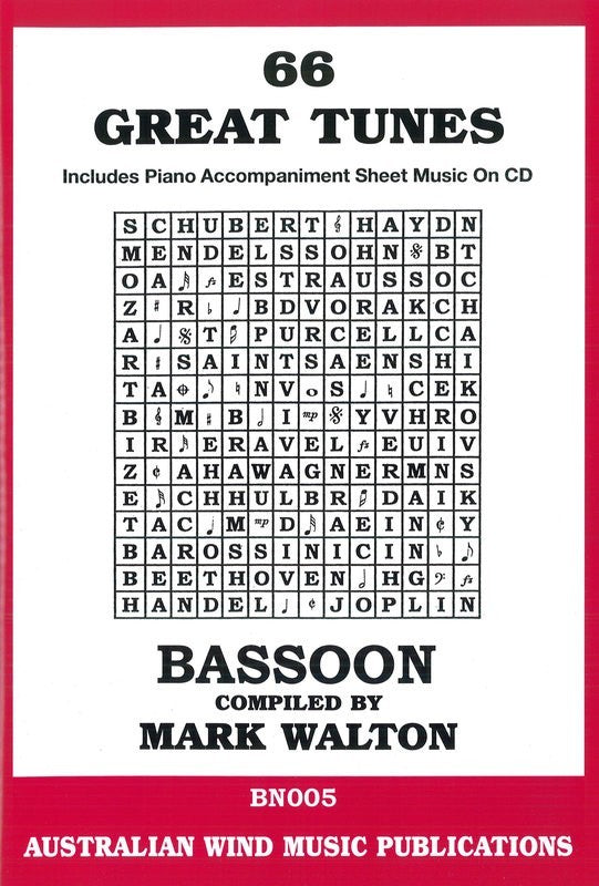 66 Great Tunes - Bassoon