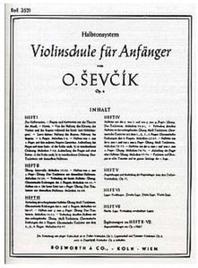 Ševčík: Violin Studies Op. 6 Part 3