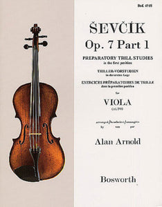 Ševčík: Viola Studies Op. 7 Part 1