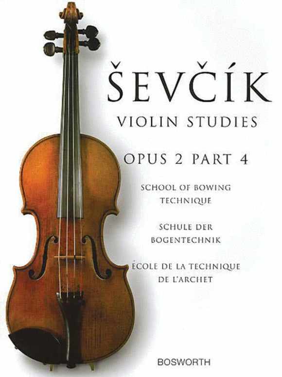 Ševčík: Violin Studies Op. 2 Part 4