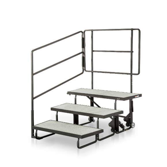 Alges Choral Riser, 3-Step Unit