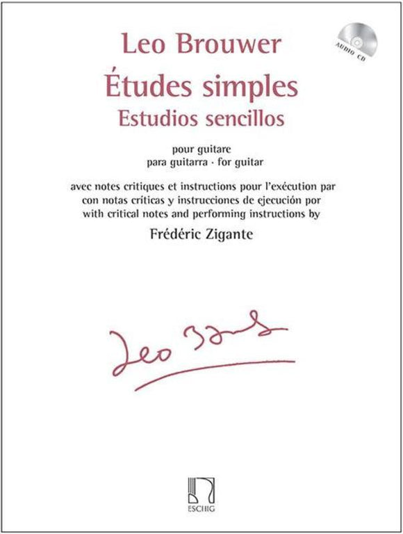 Brouwer: Etudes simples for Guitar