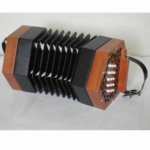 Paloma 30-60-9 3 Row Concertina