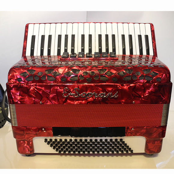 E.soprani 96 Bass Piano Accordion