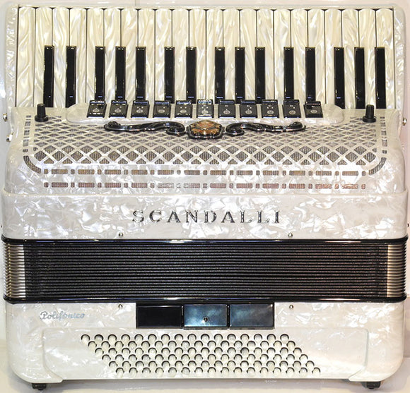Scandalli Polifonico 1x 96 Bass Accordion New