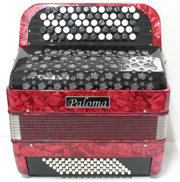 Paloma 5072c 72 Bass Button Accordion C-system