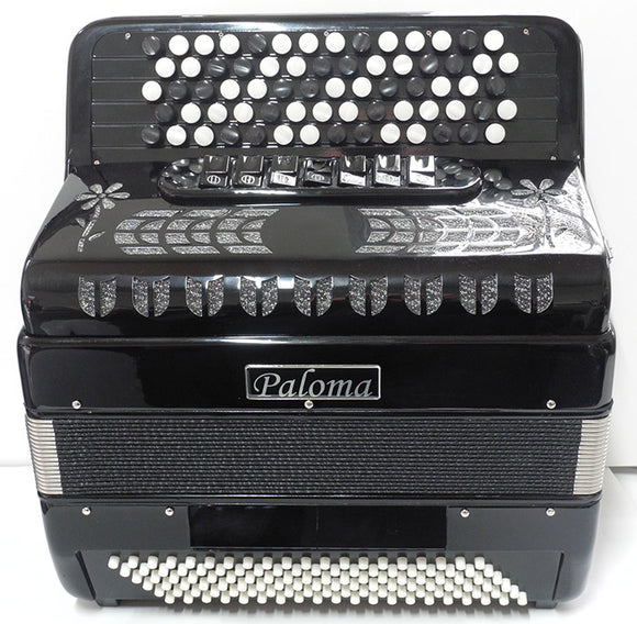 Paloma 5120 120 Bass Button Accordion B-system