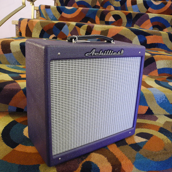 Achillies Amplification Tweed Princeton 1x10 - Purple Jungle Bark