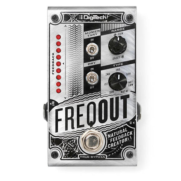 Digitech FreqOut Natural Feedback Pedal