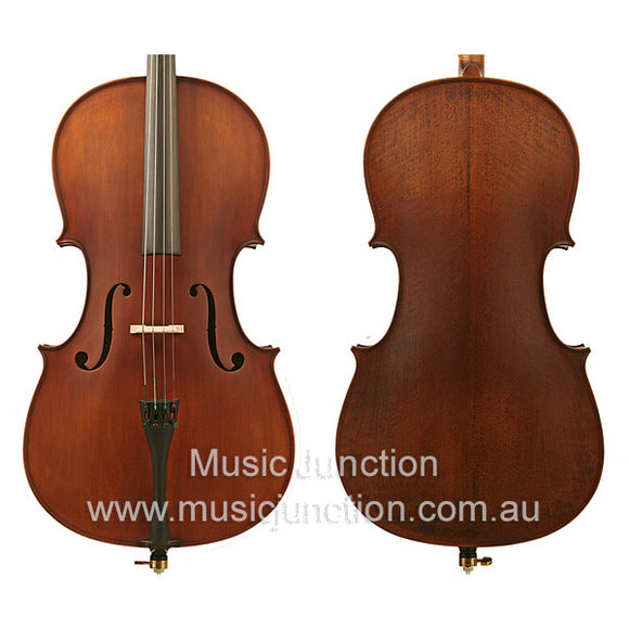 Enrico Student Plus 2 Full Size Cello Package