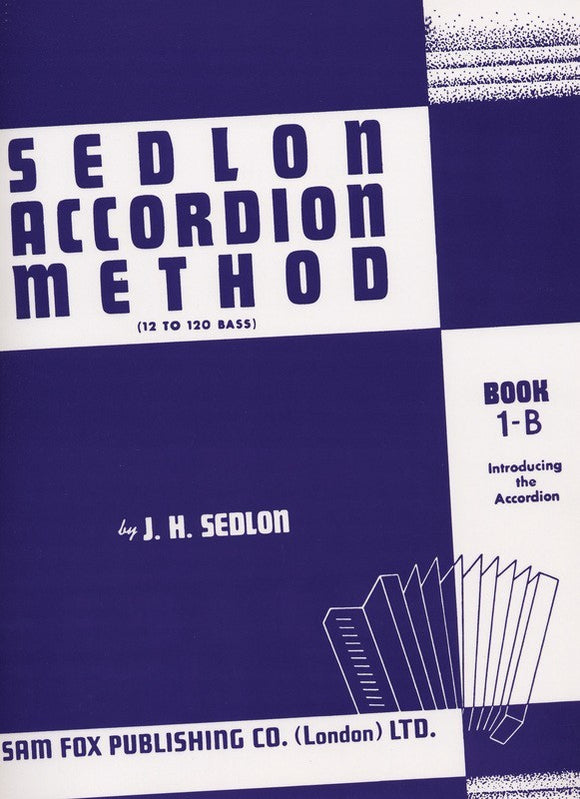 Sedlon Accordion Method Book 1B
