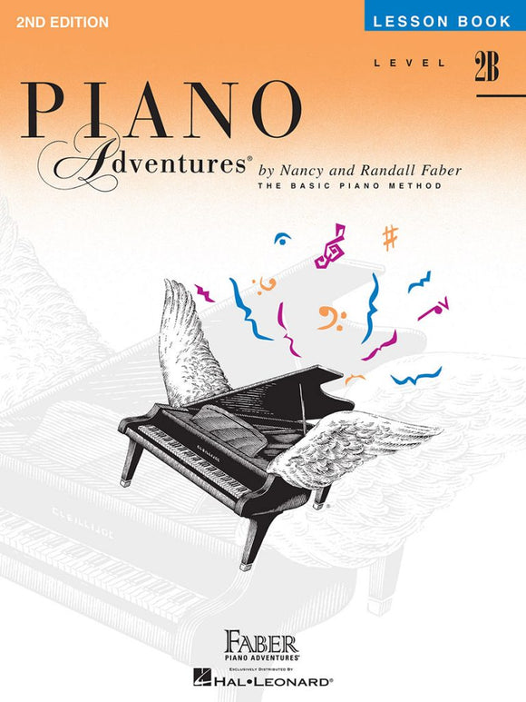 Piano Adventures Level 2B - Lesson Book