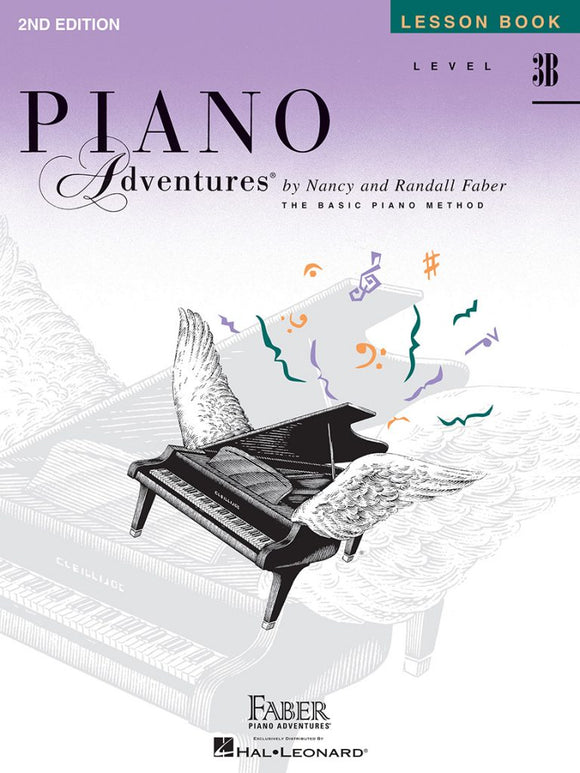 Piano Adventures Level 3B - Lesson Book