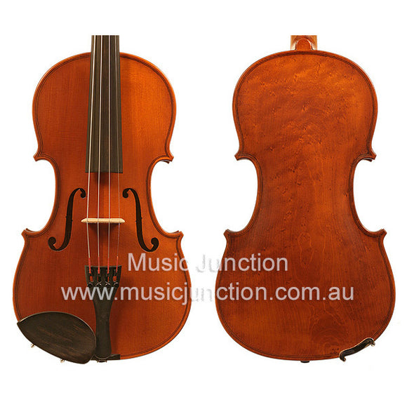 Gliga 2 Full Size Violin Package Birdseye Maple Back