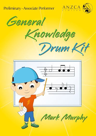 ANZCA General Knowledge - Drum Kit