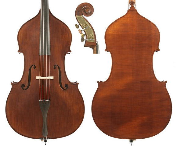 Gliga 3 Solid 3/4 Double Bass Outfit