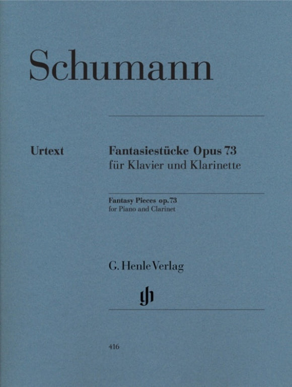 Schumann: Fantasy Pieces for Clarinet & Piano Op 73