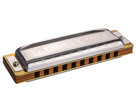 Hohner MS Series 10-Hole Diatonic Blues Harp Harmonica