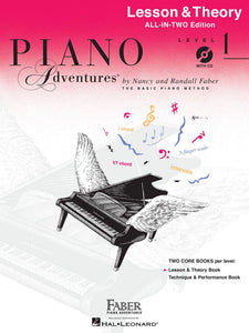 Piano Adventures All-In-Two Lesson & Theory - Level 1