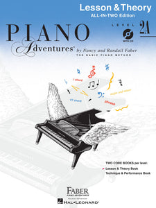 Piano Adventures All-In-Two Lesson & Theory - Level 2A