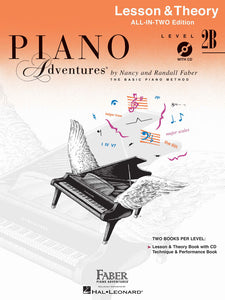 Piano Adventures All-In-Two Lesson & Theory - Level 2B