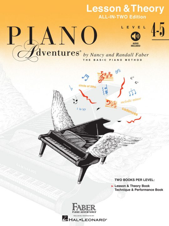 Piano Adventures All-In-Two Lesson & Theory - Level 4-5