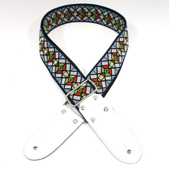 DSL Guitar Strap Jacquard Weaving Haze