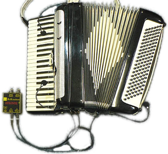 K & K External Accordion Microphone System