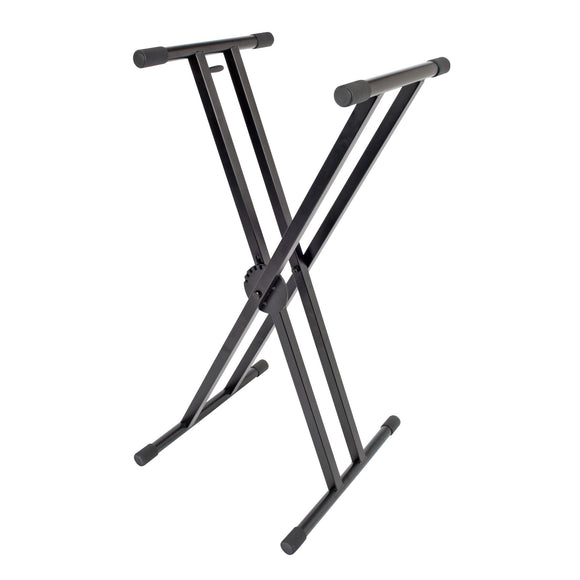 Xtreme KS166 Keyboard Stand, Heavy-Duty, Double Braced