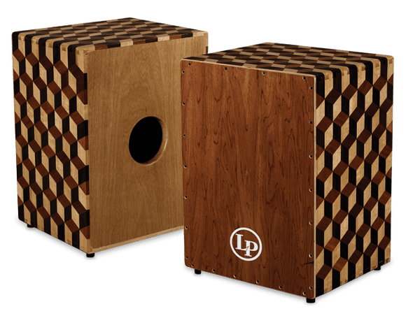 LP Peruvian Solid Wood Brick Cajon with Bag