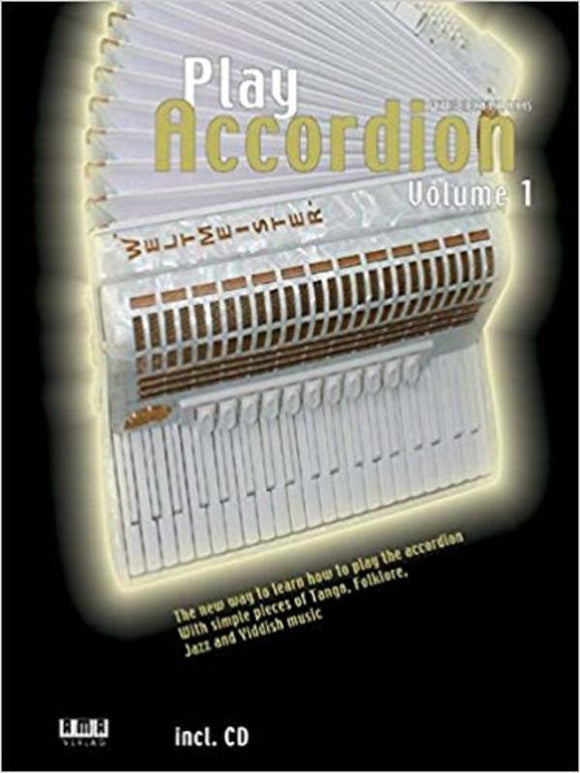 Play Accordion Vol.1 Bk/Cd