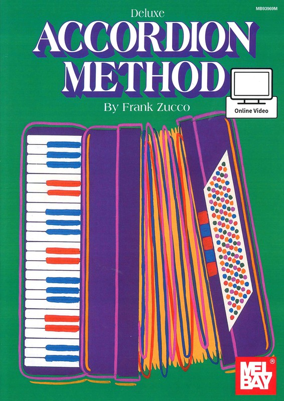 Mel Bay Deluxe Accordion Method