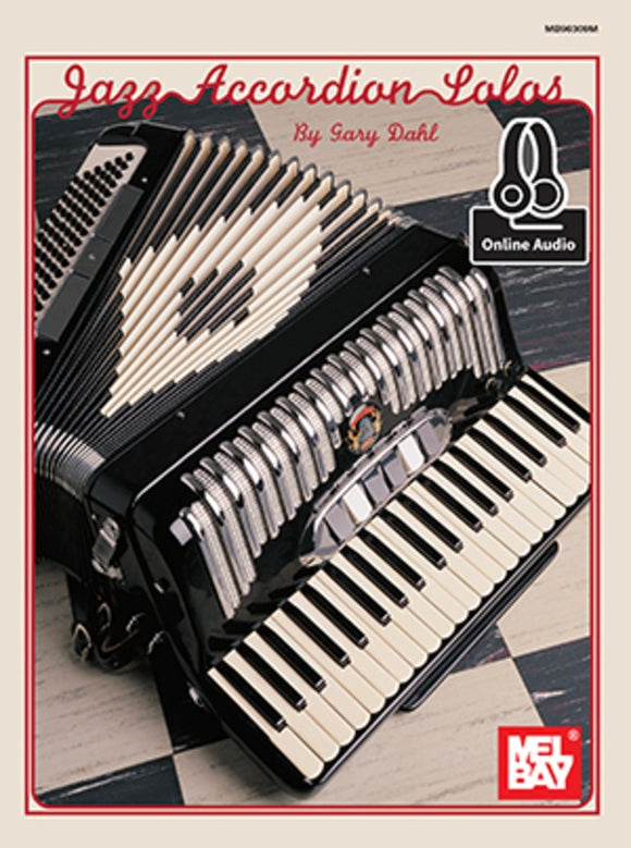 Jazz Accordion Solo Book/Oa