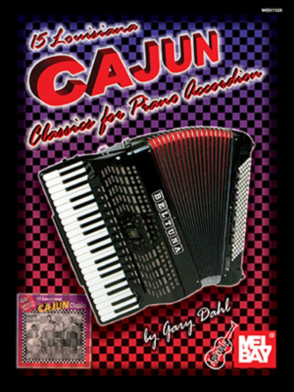15 Louisiana Cajan Classics for Piano Accordion