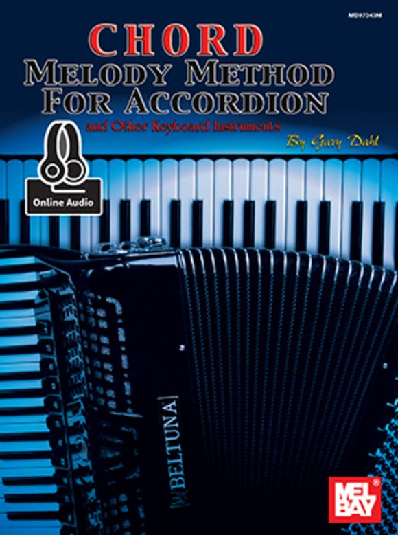 Chord Melody Method for Accordion Bk/Oa