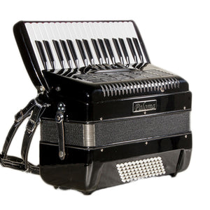 Paloma 722bk 72 Bass Accordion Black