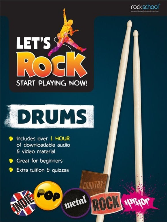 Let's Rock - Start Playing Now! Drums