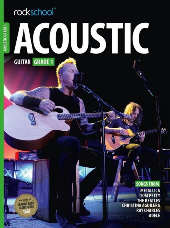 Rockschool Acoustic Guitar Grade 1 2016