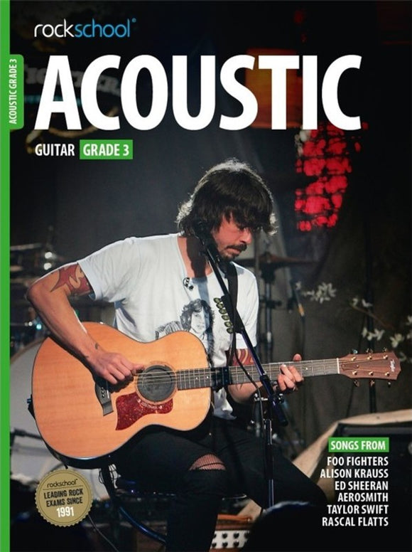 Rockschool Acoustic Guitar Grade 3 2016