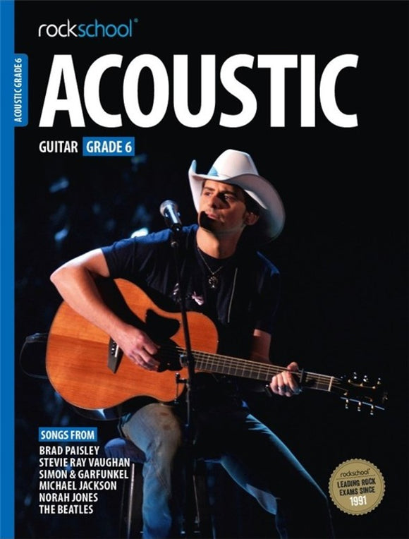Rockschool Acoustic Guitar Grade 6 2016