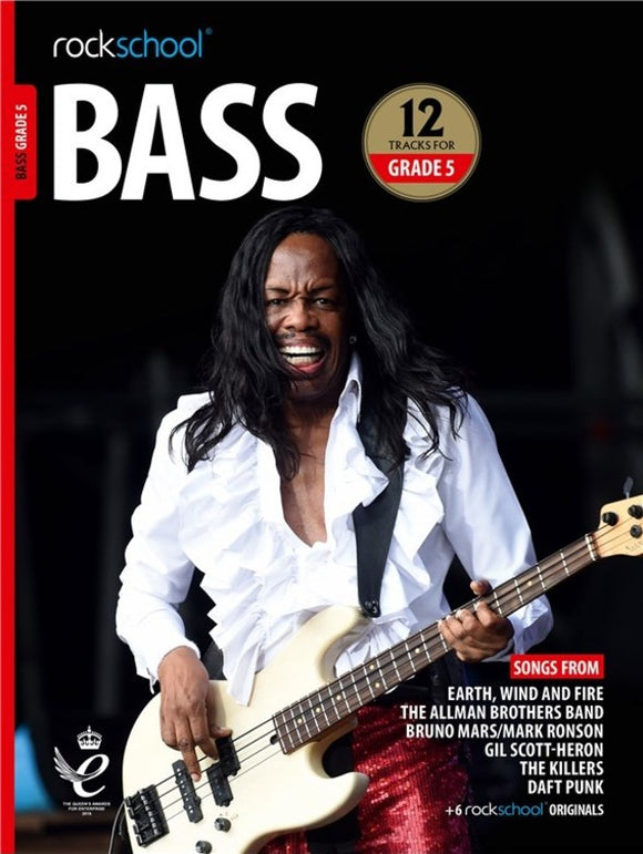 Rockschool Bass Grade 5 2018-2024