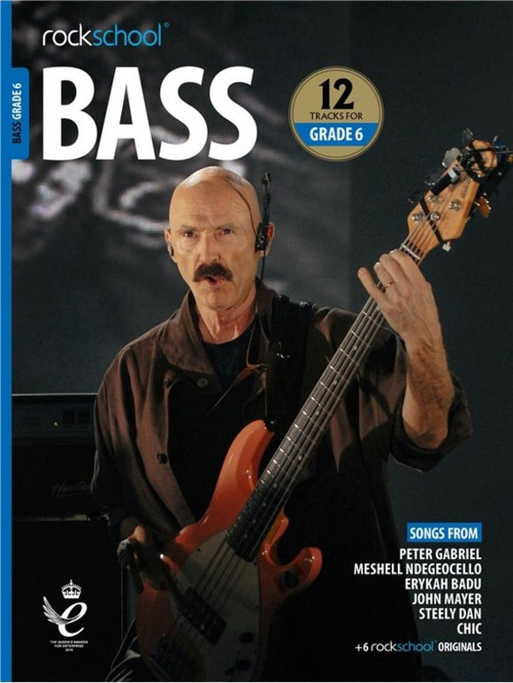 Rockschool Bass Grade 6 2018-2024