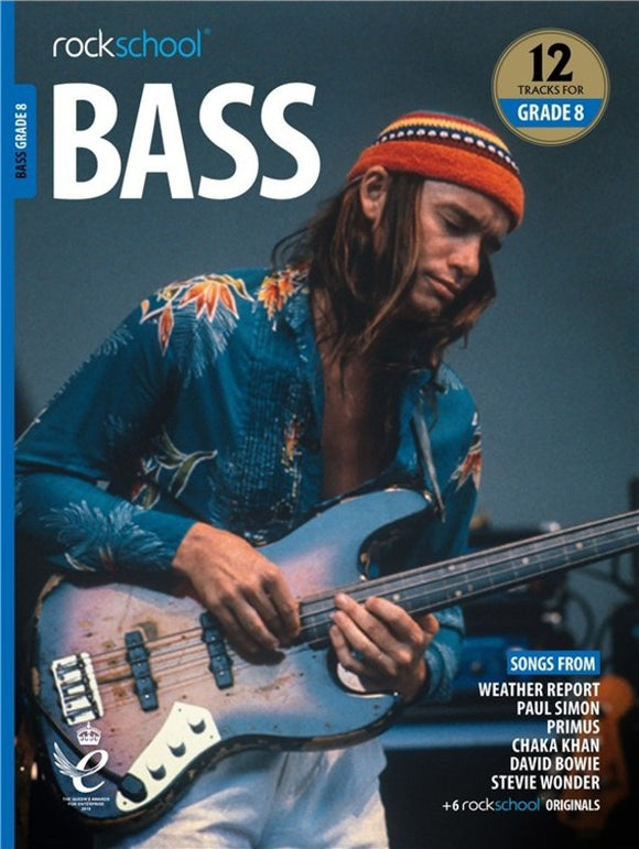 Rockschool Bass Grade 8 2018-2024
