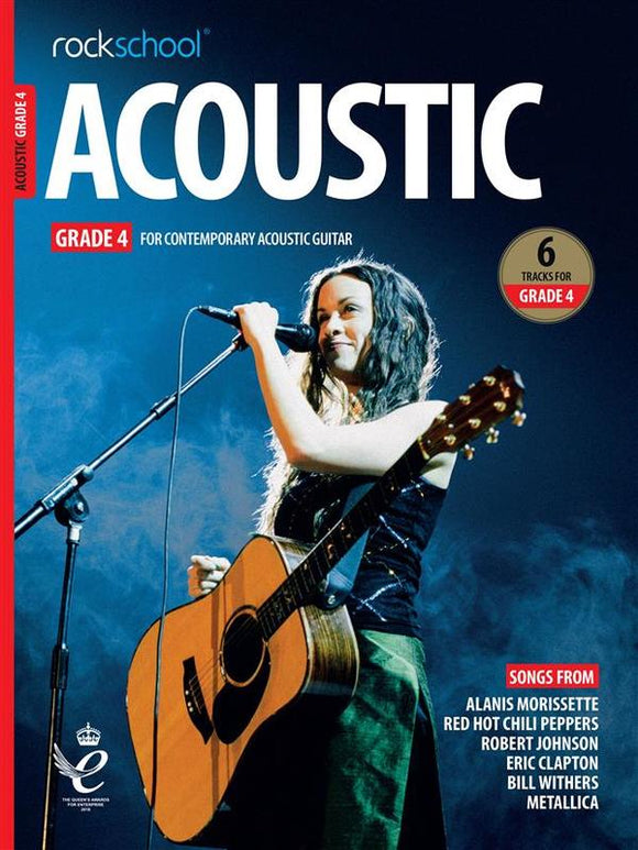 Rockschool Acoustic Guitar Grade 4 2019+