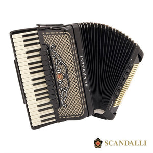 Scandalli Super Vi Extreme Traditional 120 Bass