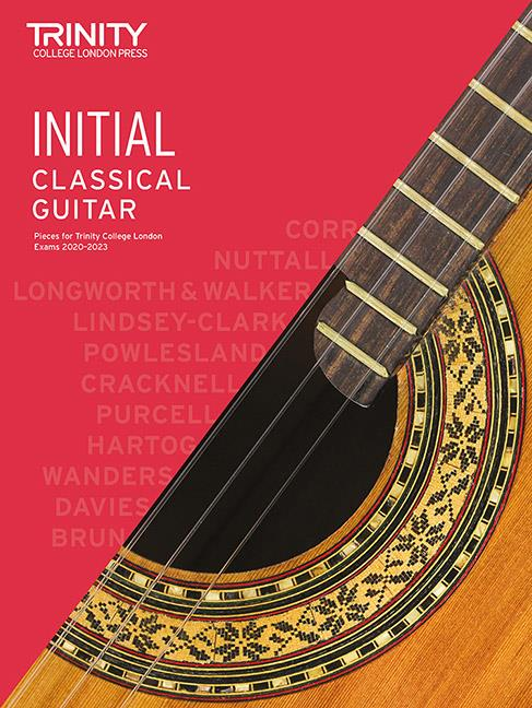 Trinity Classical Guitar Pieces 2020-23 Initial