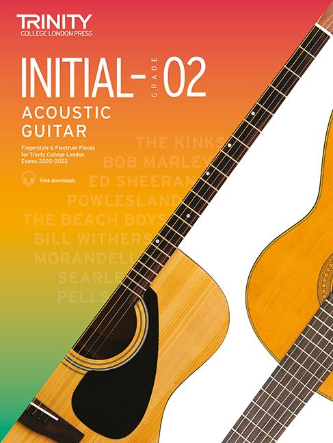 Trinity Acoustic Guitar Pieces 2020-23 Init-Gr 2